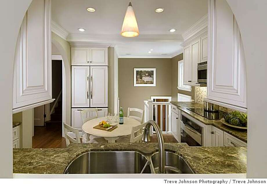 """After"" shot of kitchen remodel. Photo: Treve Johnson, Treve Johnson Photography"
