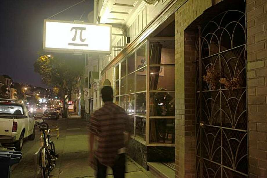 The PI Bar sign is the bright on the block on Friday, Oct. 30, 2009 in San Francisco, Calif. Photo: Mike Kepka, The Chronicle