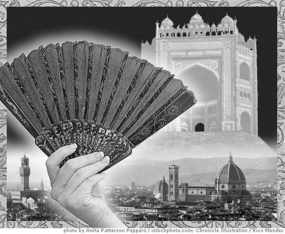 Fan photo by Anita Patterson Peppers and istockphoto.com; Chronicle Illustration by Rico Mendez