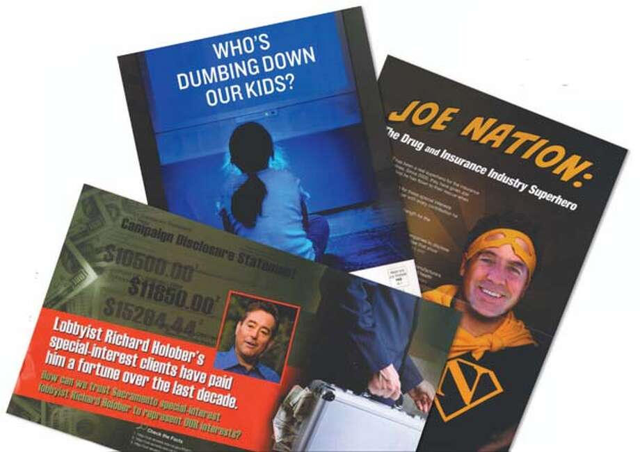 """Special-Interest Lobbyist Richard Holober,"" ""Who's Dumbing Down Our Kids?"" and ""Joe Nation."""