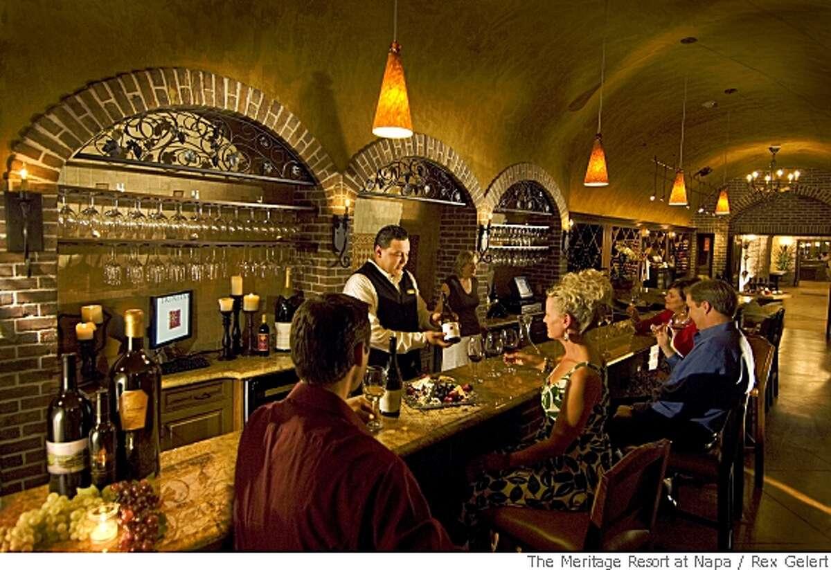 TRAVEL NAPA MERITAGE -- Estate Wine Bar