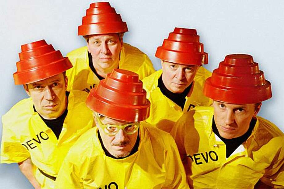"Devo is on the road playing its classic albums 1978's ""Q: Are We Not Men? A: We Are Devo!"" and 1980's ""Freedom of Choice."" Photo: Warner Bros."