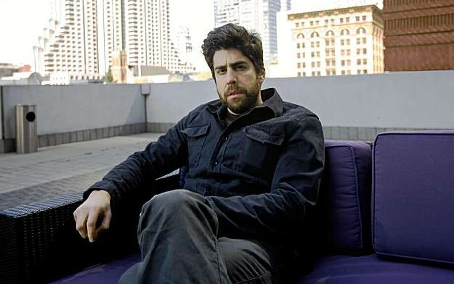 "Actor Adam Goldberg, whose new film ""Untitled"" is showing at the San Francisco Film Festival, poses for a picture at the W Hotel in San Francisco, Calif., on Saturday, April 25, 2009. Photo: Hardy Wilson, The Chronicle"