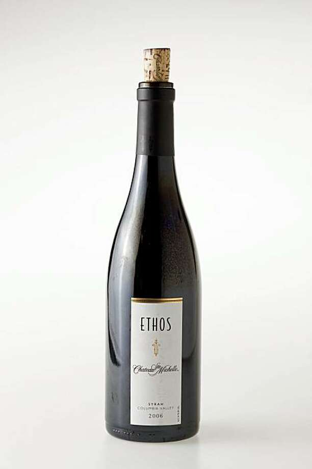 2006 Ethos Chateau Ste Michelle Columbia Valley Syrah in San Francisco, Calif., on November 4, 2009. Photo: Craig Lee, Special To The Chronicle