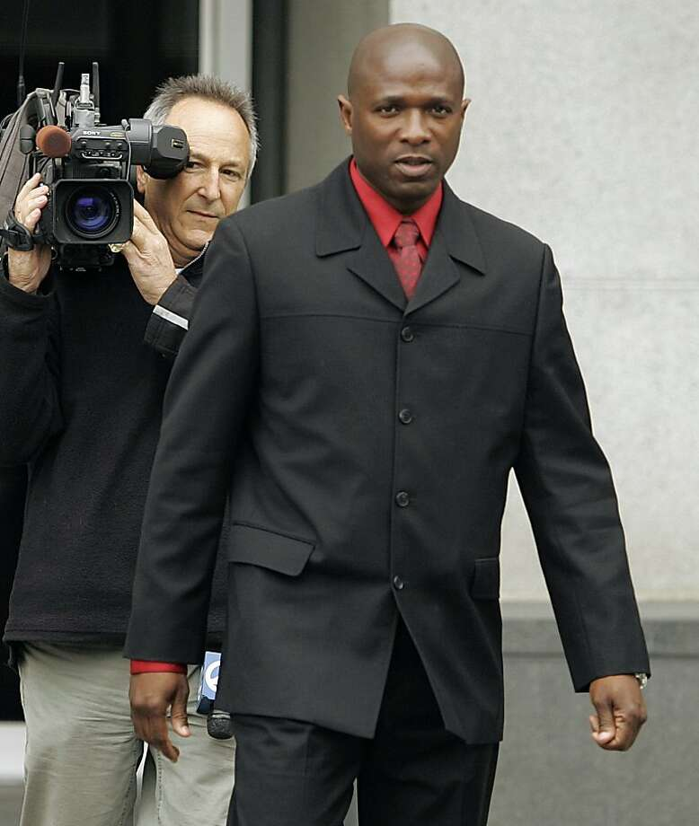 ** FILE ** In this , Nov. 16, 2006, file photo, track coach Trevor Graham exits the Federal building in San Francisco. A jury in San Francisco has found track coach Trevor Graham guilty of one count of lying to investigators about his relationship to a steroids dealer, Thursday May 29, 2008. Jurors could not reach a verdict on two other counts. (AP Photo/Ben Margot, File) Photo: Ben Margot, AP