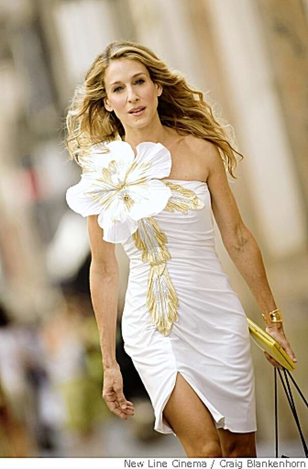 "In this image released by New Line Cinema, Sarah Jessica Parker stars as Carrie Bradshaw in New Line Cinema's ""Sex in the City"". (AP Photo/New Line Cinema,Craig Blankenhorn) ** NO SALES ** Photo: Craig Blankenhorn, New Line Cinema"
