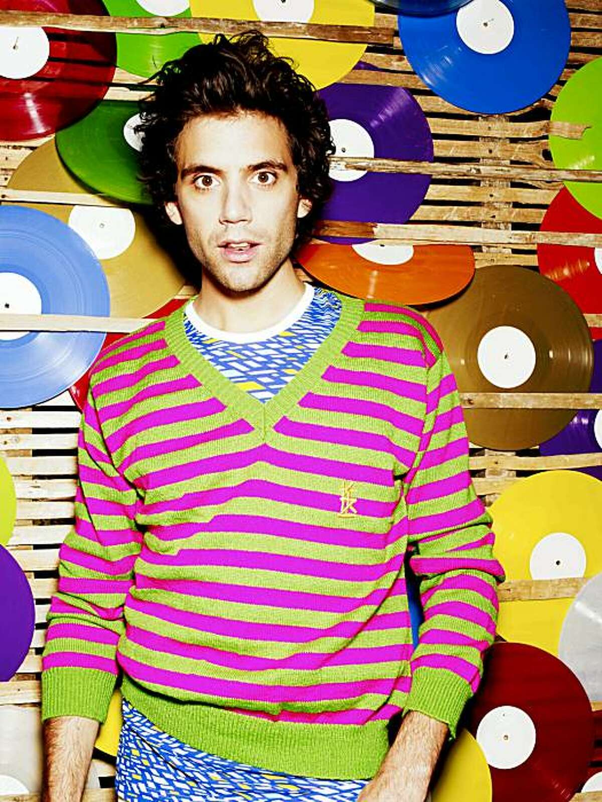 Mika performs Oct. 24 at the Fox Theater in Oakland