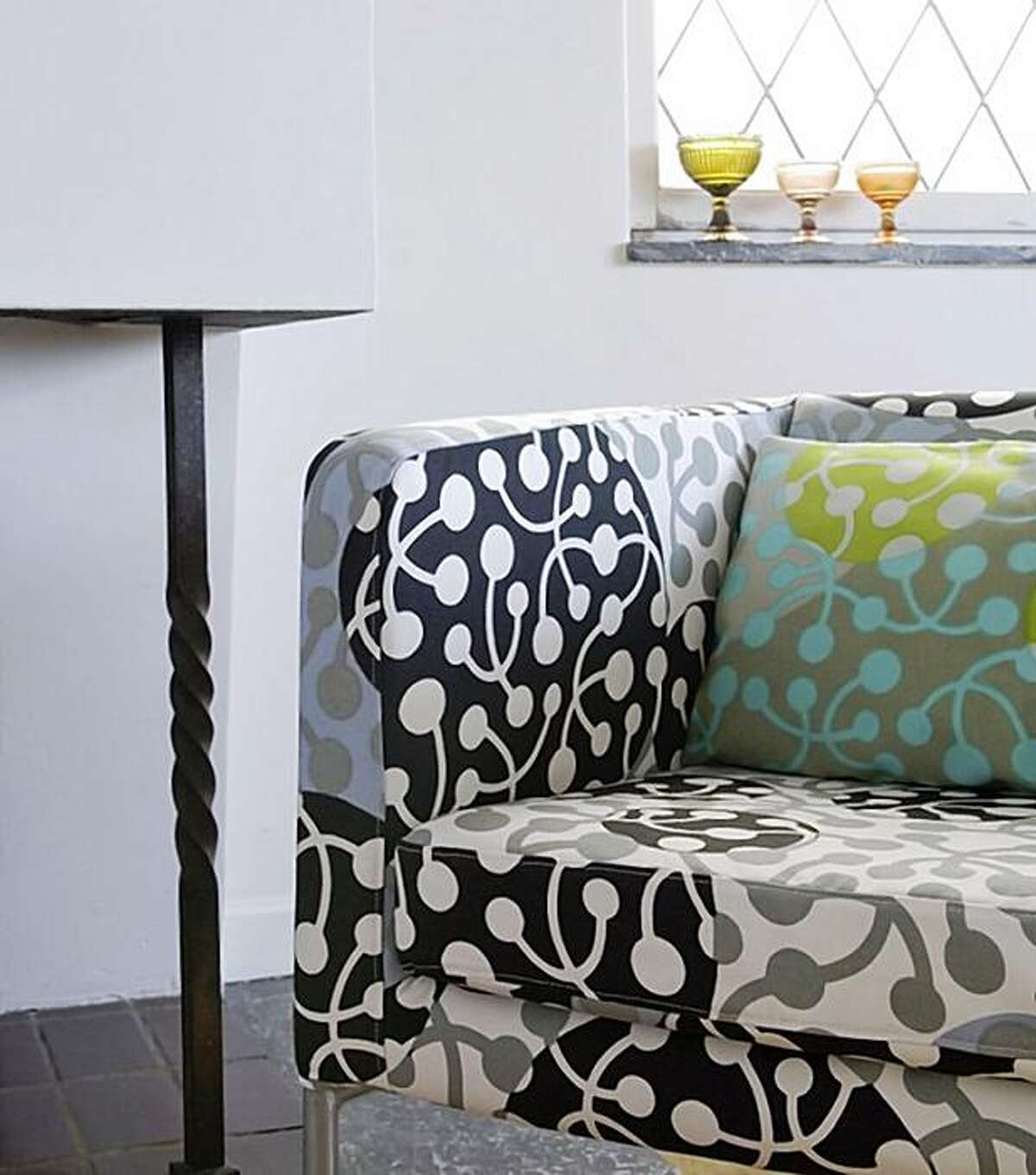 Klappsta armchair with Kirsikka by Marimekko, $229.