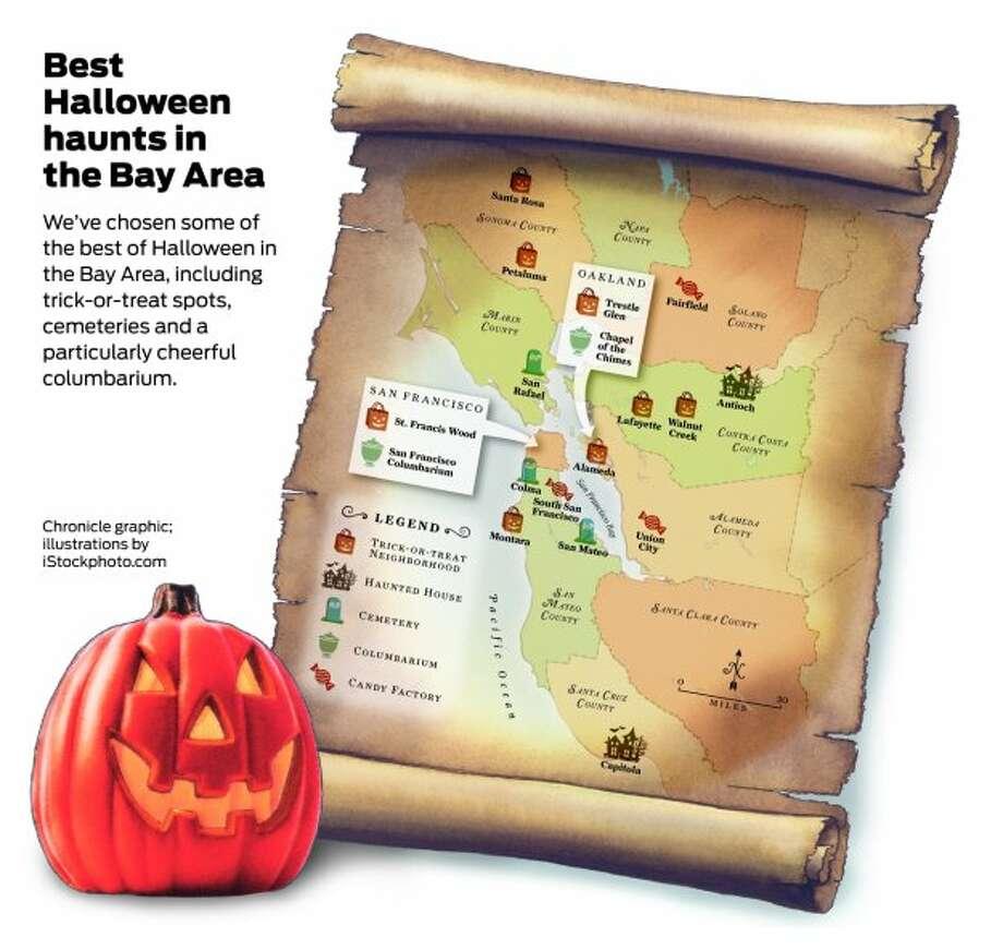 best halloween haunts in the bay area - sfgate