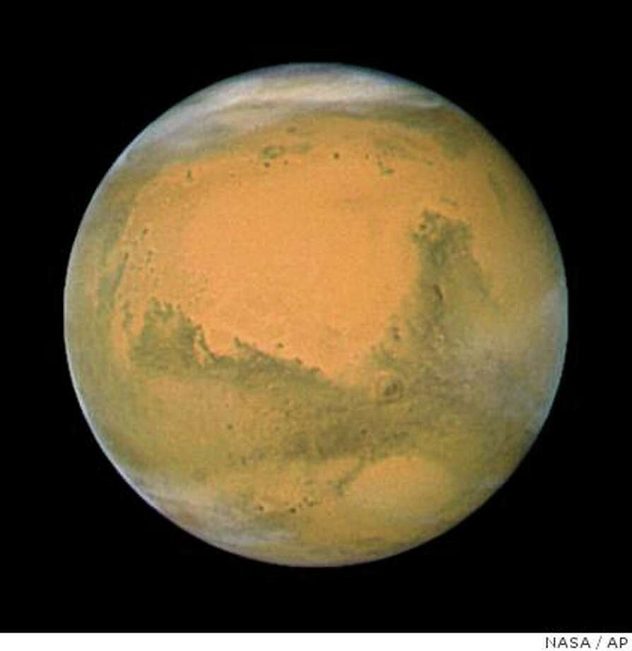 Mars. Photo: NASA, AP
