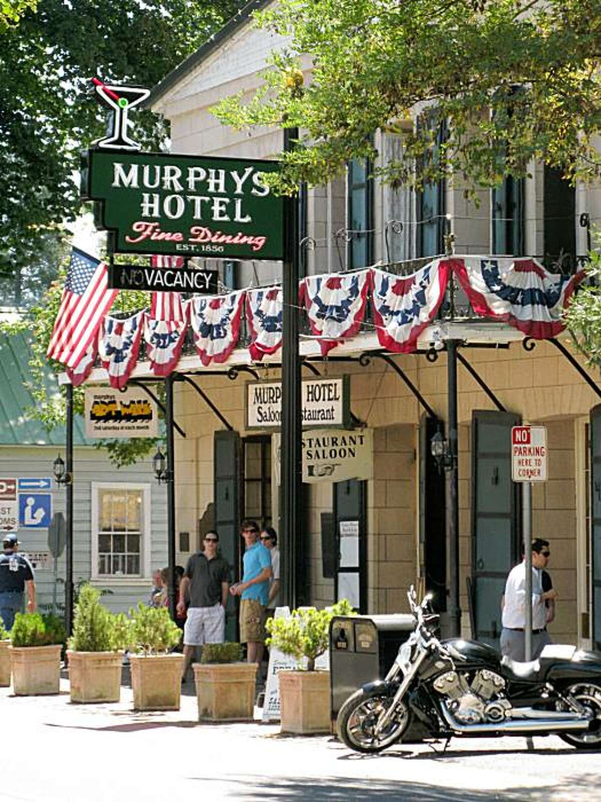 The Murphys Hotel in downtown Murphys, Calaveras Co.