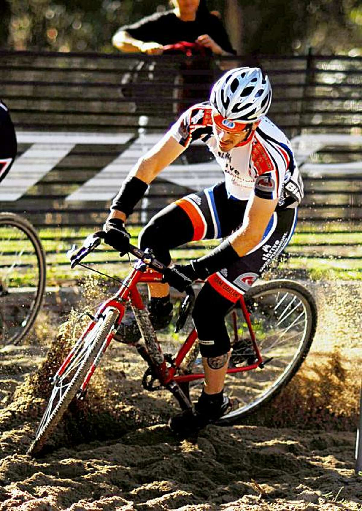 Cyclocross racers scramble up hills, racing through mud and rock in this sport popular in the Bay Area.