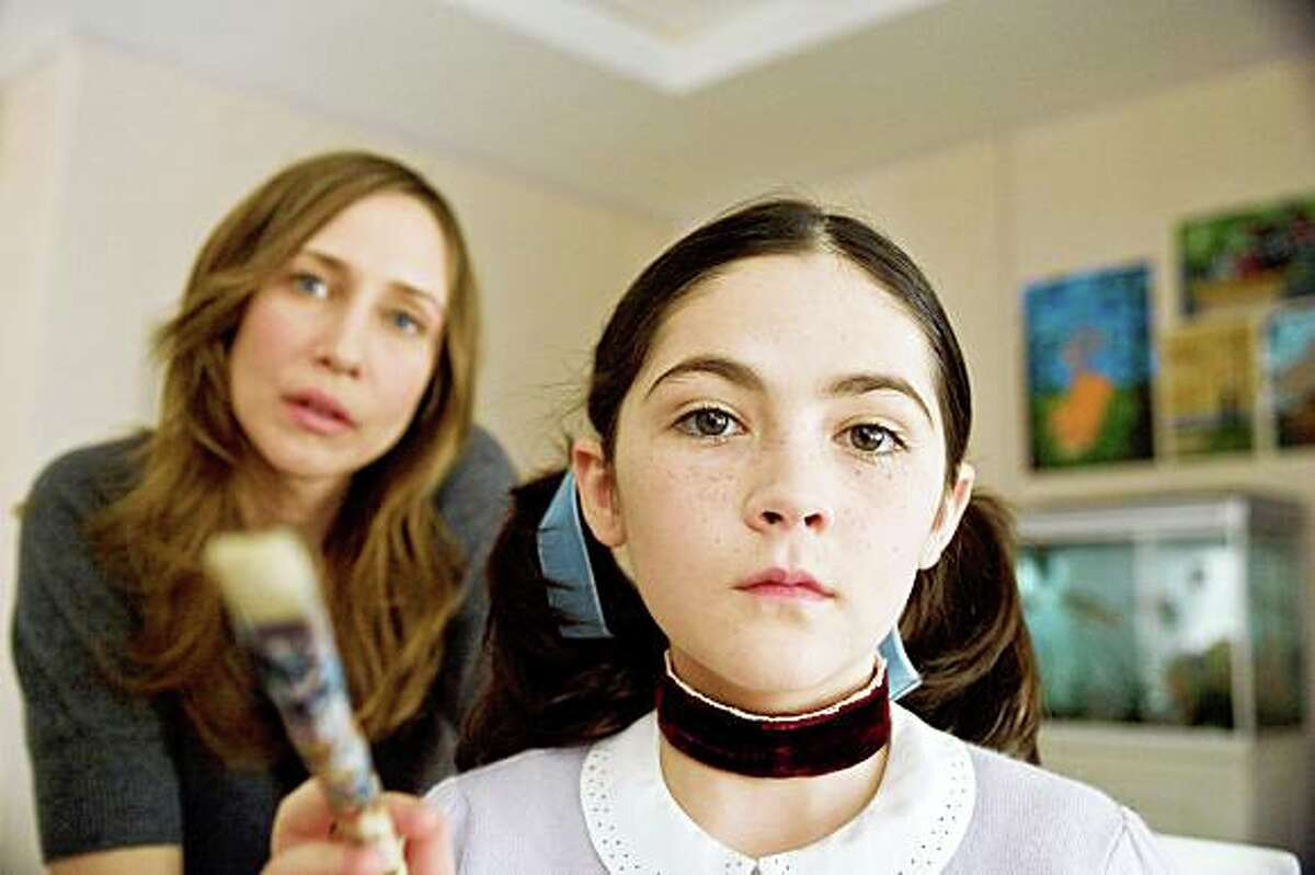 VERA FARMIGA as Kate and ISABELLE FUHRMAN as Esther in Dark Castle Entertainment's horror thriller