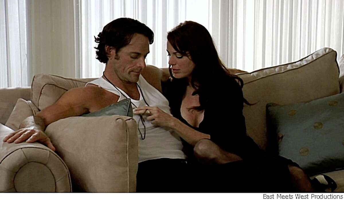 Richard Anthony Crenna Jr. and Kristin Miller in Julie Rubio's tale of desire, passion and murder