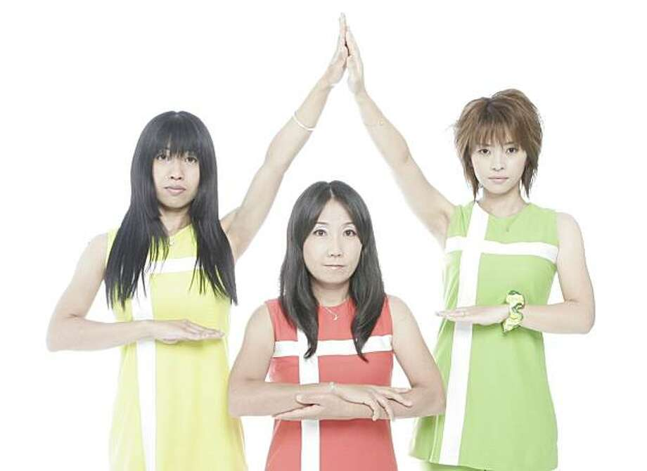 "Shonen Knife rocks The Carpenters' ""Top of the World."" Photo: Akira Shibata"
