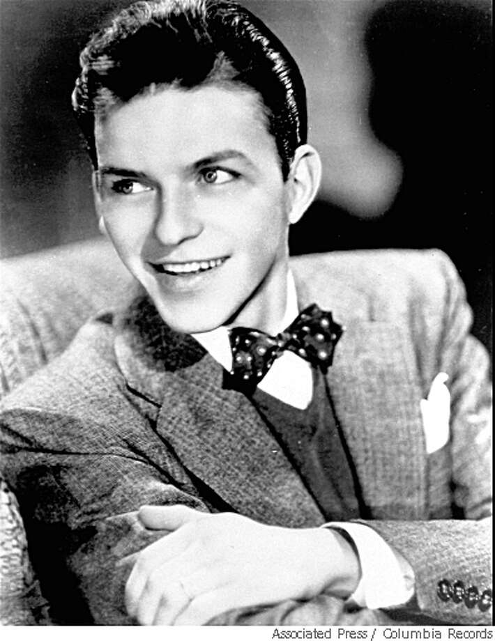 Gregory Lukow said staffers recently found a recording of then-17-year-old Frank Sinatra appearing on a 1930s radio show called Major Bowes Amateur Hour that was the American Idol of its day.In this1943 portrait, Sinatra is 27   (AP Photo/Columbia Records) Photo: Columbia Records, Associated Press