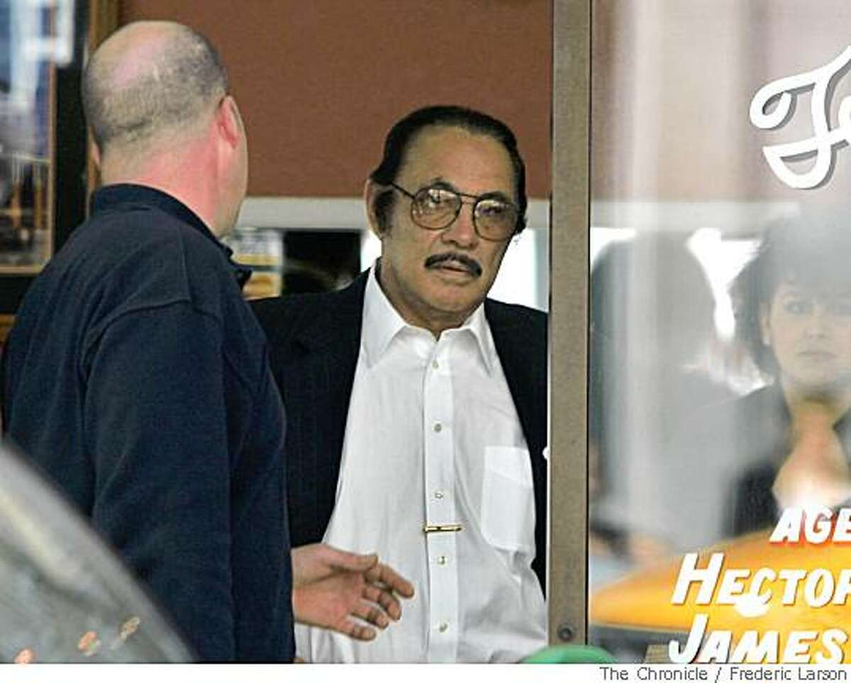 PROSECUTERS HAVE CONFIRMED IDENTITY Ricardo Ramirez seen leaving a Bail Bonds establishment across from the SF Hall of Justice where earlier he was in court. He headed a outfit called Pacific Cement that allegedly peddled weak, recycled concrete to Caltrans and various SF city agencies for public works projects.