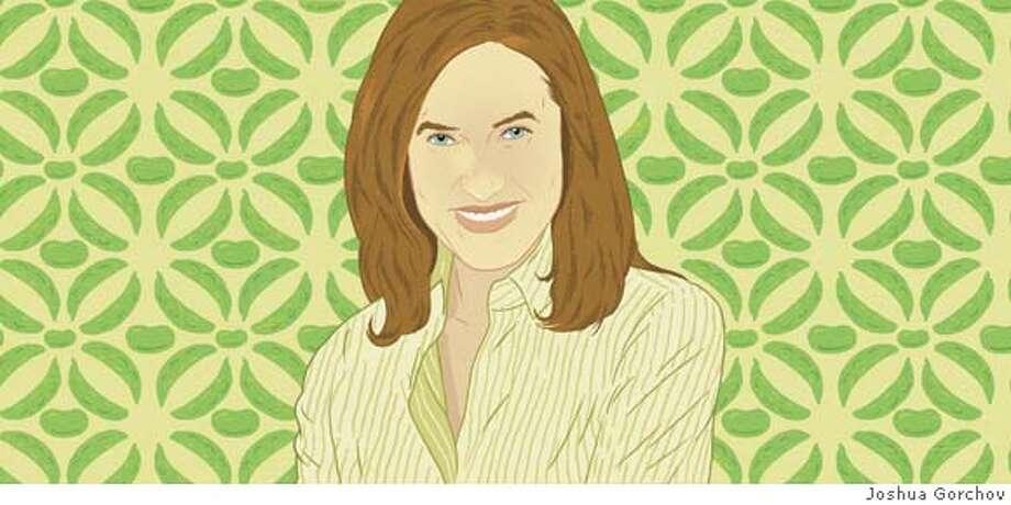 Illustrated portrait of Johanna McCloy