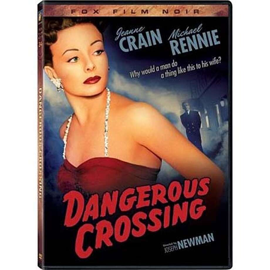 dvd cover DANGEROUS CROSSING Photo: Handout