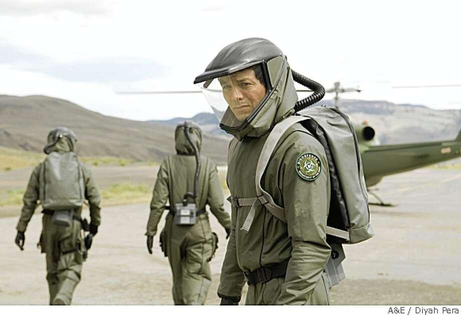 """Benjamin Bratt as Dr. Jeremy Stone in A&E's original mini-series """"The Andromeda Strain."""" Credit: Diyah Pera Photo: Diyah Pera"""