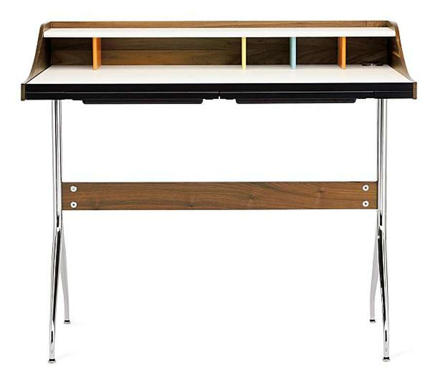 Swag Leg Desk, from Design Within Reach Photo: DWR