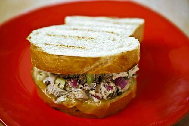 Fresh Tuna Melt  From Fish, Sausilto Photo: Russell Yip, The Chronicle