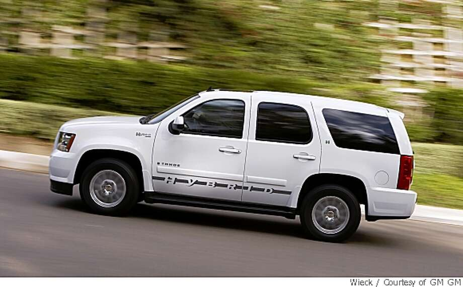 2008 Chevy Tahoe Hybrid Proves Ger Can Still Be Better