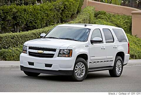 2008 Chevy Tahoe Hybrid Proves Bigger Can Still Be Better Sfgate