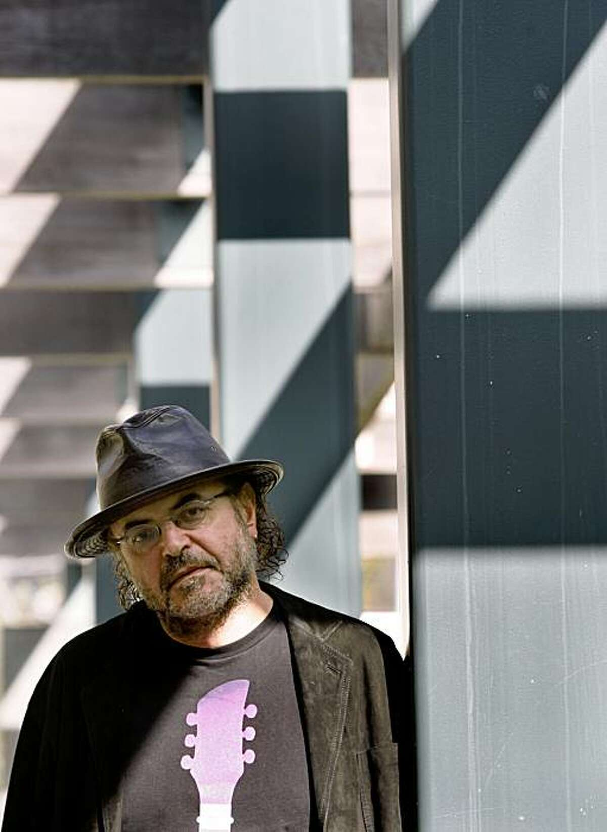 """Prof. Christos Papadimitriou is seen at Cal's Soda Hall in Berkeley, Calif., on Tuesday, Oct. 20, 2009. The computer science professor has just co-authored a graphic novel titled, """"Logicomix."""""""