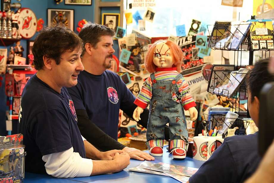 Walt and Mike - Comic Book Men - Season 1 Photo: Dane Potter, AMC