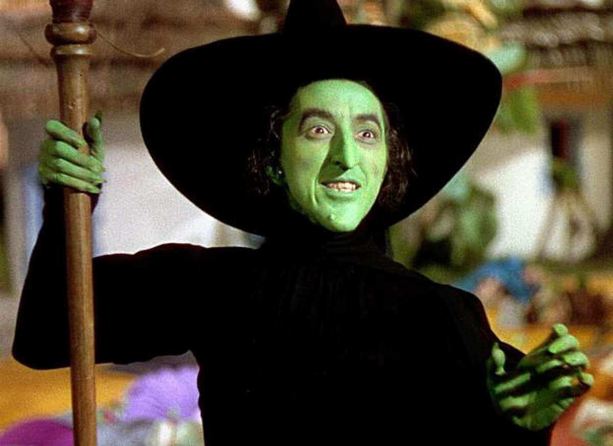 Margaret Hamilton as The Wicked Witch of the East in