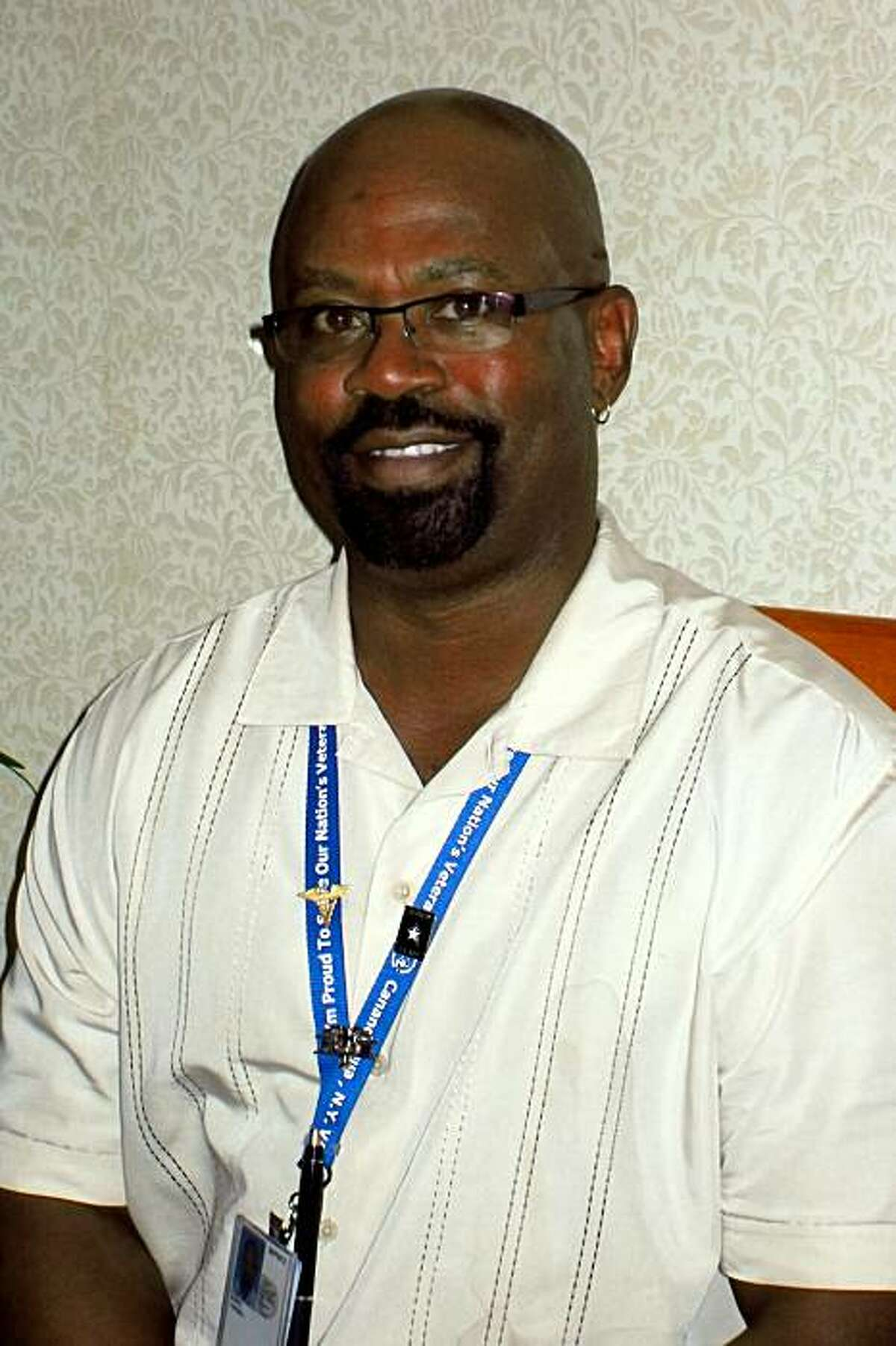 Tyrone Banks, a former Army medic who helped rescue Carol Dickinson in the Marina District during the 1989 Loma Prieta earthquake.