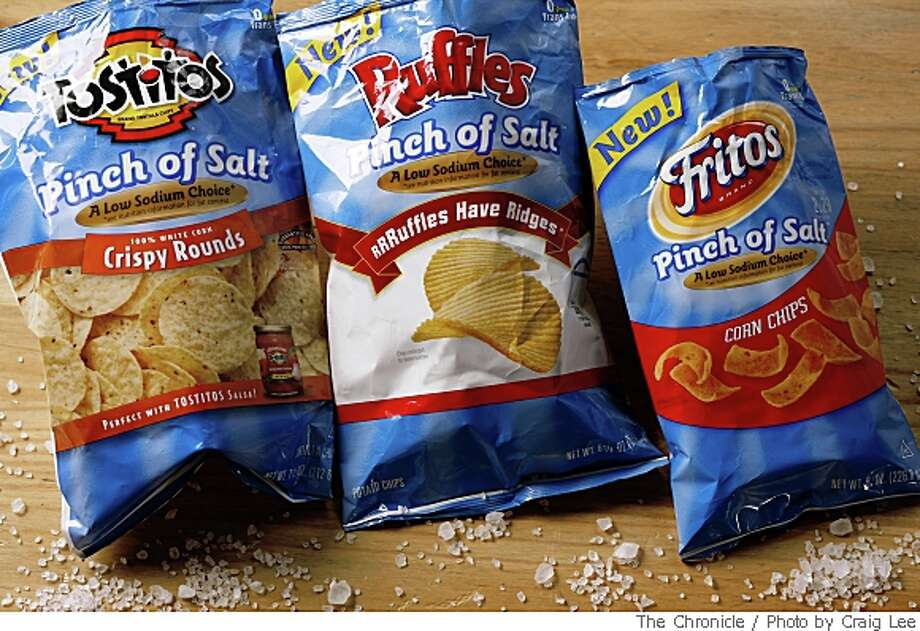 Pinch of Salt bag of chips in San Francisco, Calif., on May 22, 2008. Photo by Craig Lee / The San Francisco Chronicle Photo: Photo By Craig Lee, The Chronicle