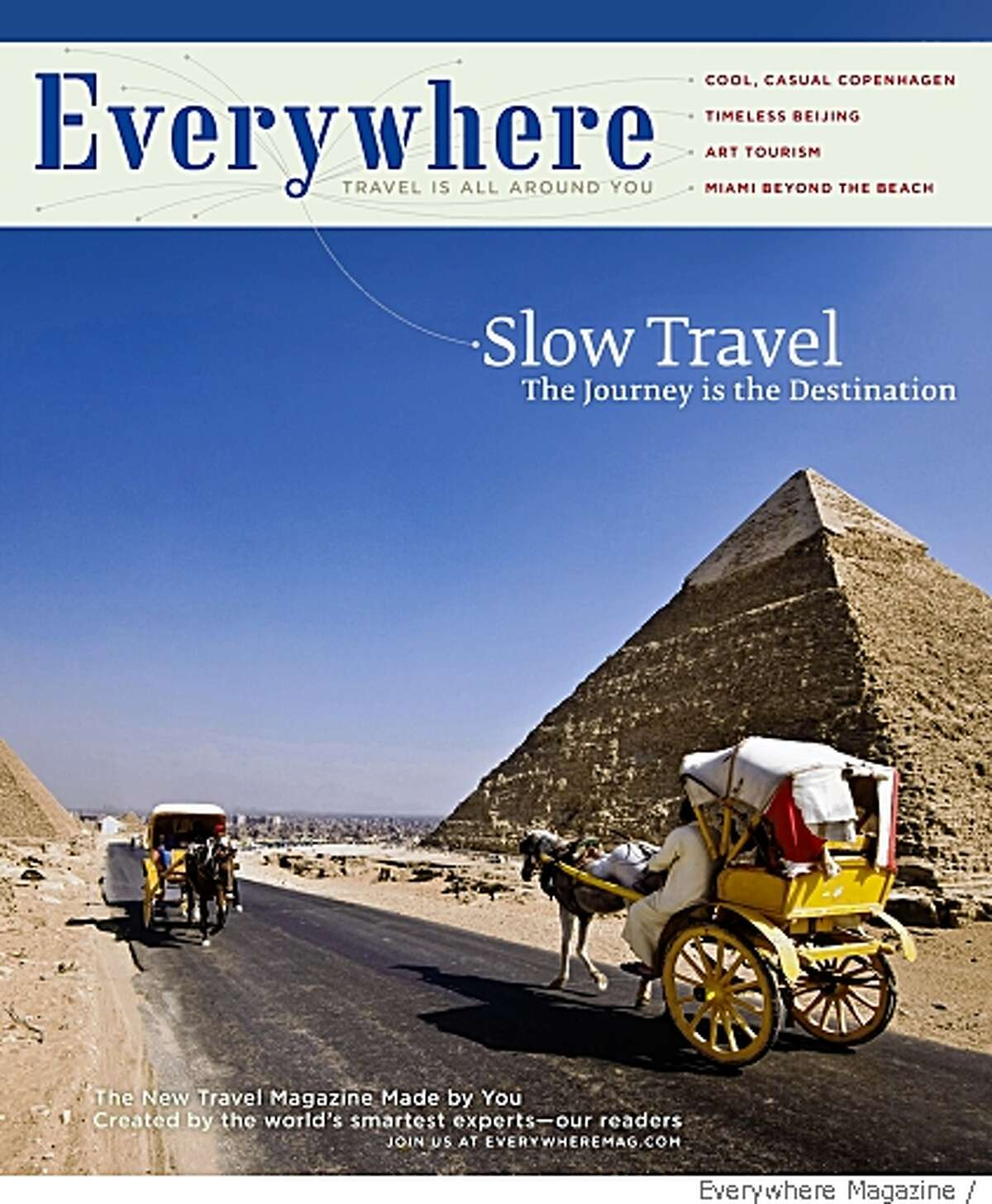 Cover shot for the travel magazine