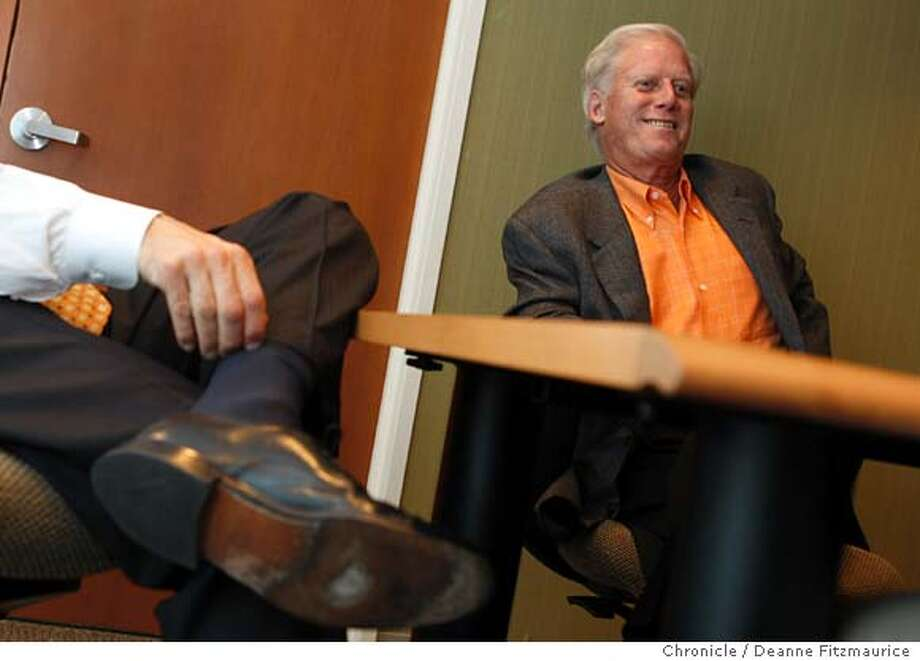 Peter , President of the San Francisco Giants, announced he is stepping down from that position in San Francisco, Calif. on May 16, 2008.  Photo by Deanne Fitzmaurice / San Francisco Chronicle Photo: Deanne Fitzmaurice