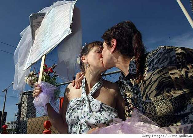 California Supreme Court Rules On Gay Marriage Photo: Justin Sullivan