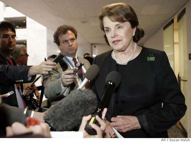 Dianne Feinstein Photo: Susan Walsh