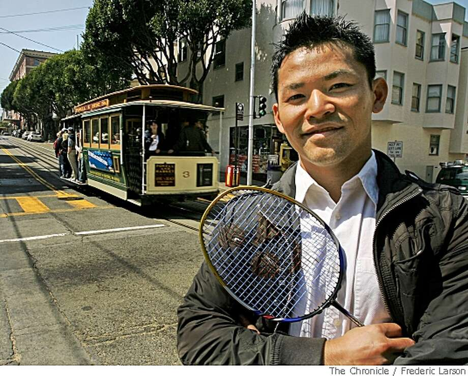Howard Bach an Olympic badminton player who grew up on the corner of Jackson and Hyde in San Francisco revisits his old neighborhood on May 23, 2008.  5/23/08Photo by Frederic Larson / San Francisco Chronicle Photo: Frederic Larson, SFC