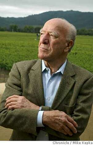 ###Live Caption:mondavi095_mk.jpg Robert Mondavi will turn be turn 90 on June18, 2003. He is the owner of a wine empire famous throughout the world. 6/9/03 in Oakville. MIKE KEPKA / The San Francisco Chronicle###Caption History:mondavi095_mk.jpg Robert Mondavi will turn be turn 90 on June18, 2003. He is the owner of a wine empire famous throughout the world. 6/9/03 in Oakville. MIKE KEPKA / The San Francisco Chronicle###Notes:###Special Instructions:MANADATORY CREDIT FOR PHOTOG AND SF CHRONICLE/ NO SALES-MAGS OUT Photo: MIKE KEPKA