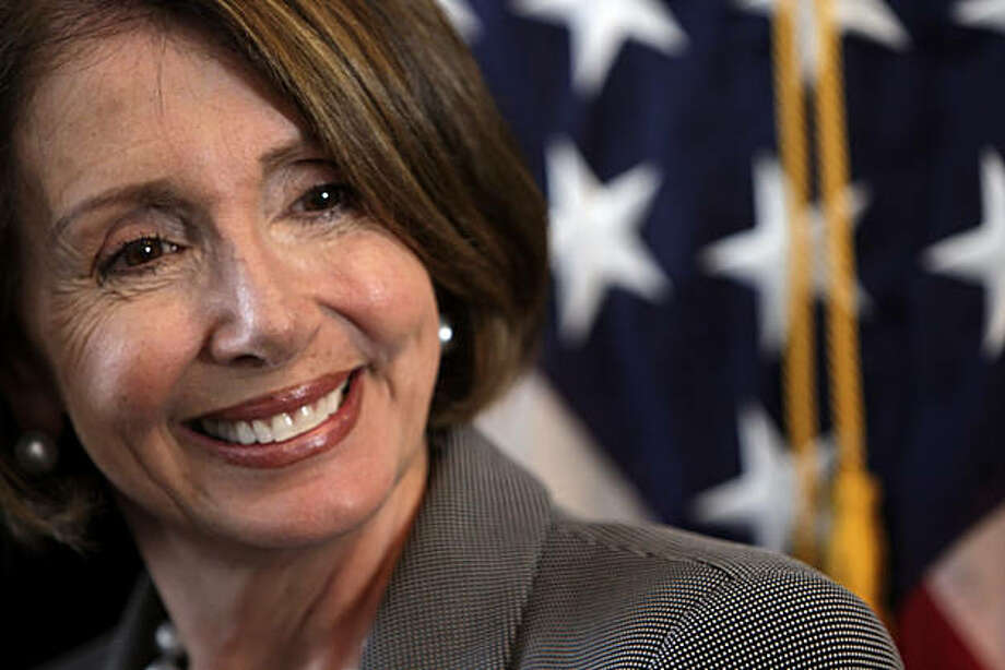 House Speaker Nancy Pelosi seen during a ground-breaking ceremony at Japantown's Nihonmachi Terrace in San Francisco, Calif., on Tuesday, September 1, 2009. Pelosi of San Francisco, is in the eye of the storm over health care reform in Washington. Photo: Carlos Avila Gonzalez, The Chronicle