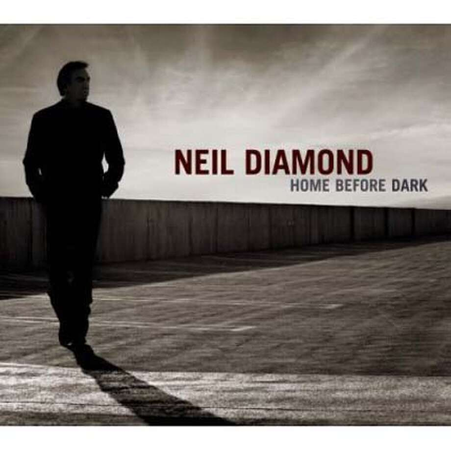 cd cover HOME BEFORE DARK by Neil Diamond Photo: Handout