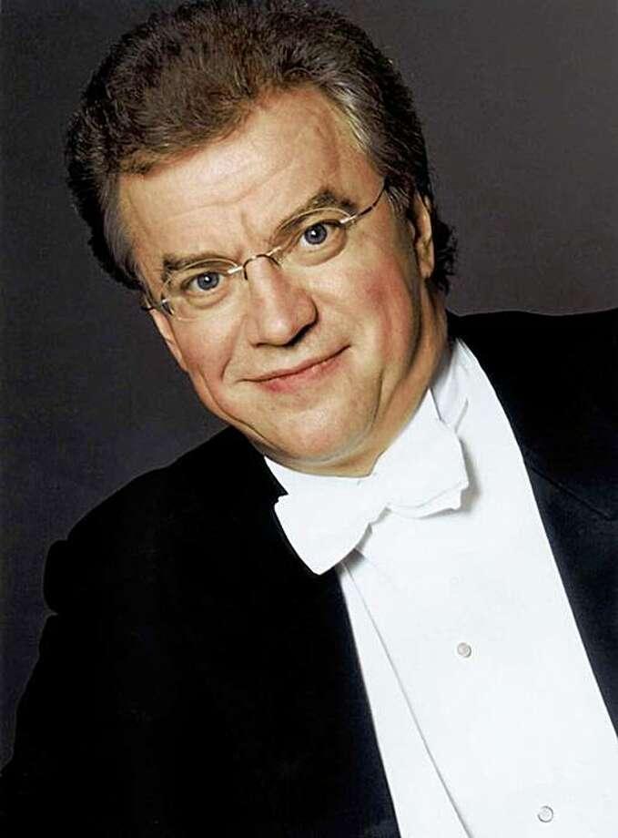 Conductor Osmo Vänskä Photo: Ann Marsden