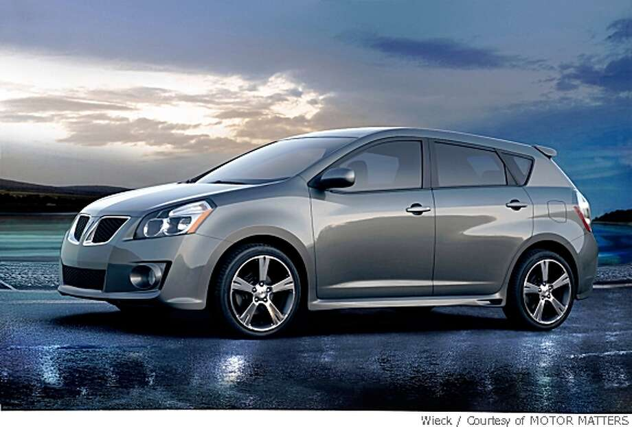 "Wagon: 2005-2010 Pontiac VibeWhat Edmunds said: ""With more than a touch of style, impressive space efficiency, compact dimensions and a smooth, reliable powertrain courtesy of Toyota, the Vibe makes for a very practical choice.""Source: Edmunds Photo: Courtesy Of MOTOR MATTERS, Wieck"