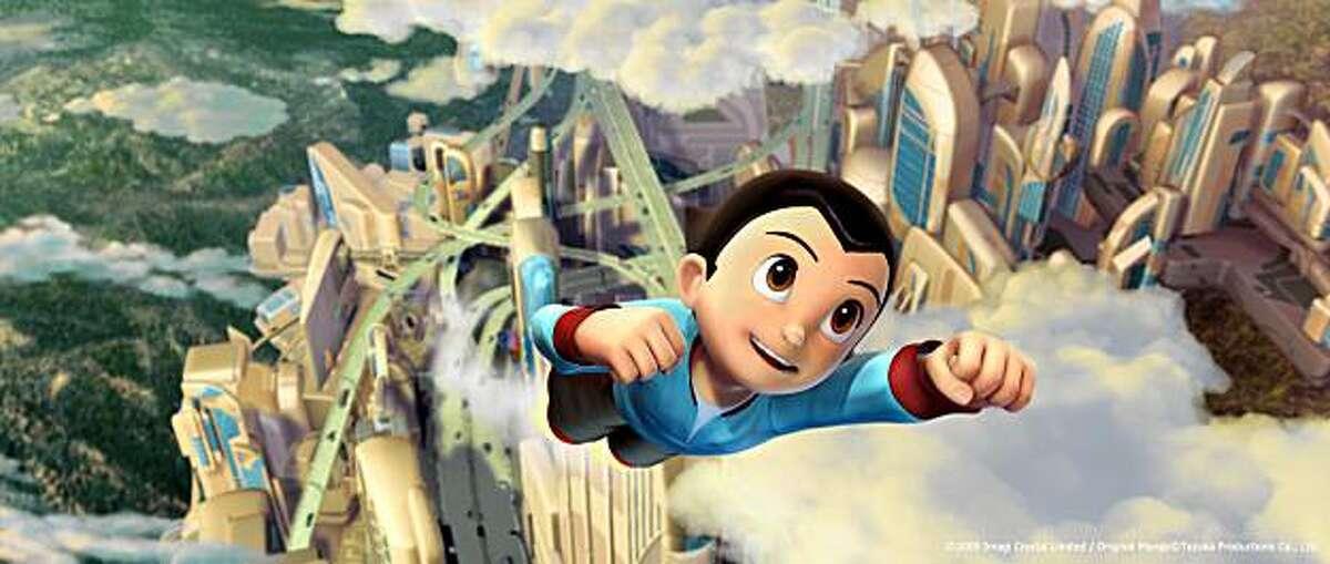 Astro Boy (voiced by Freddie Highmore)