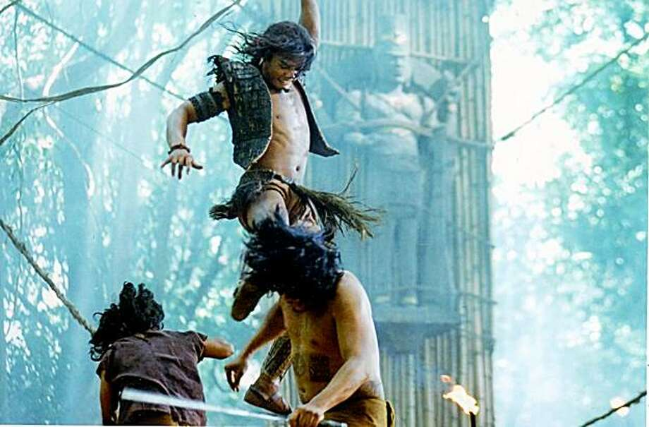 Tony Jaa (Tiang) in ONG BAK 2, directed by Tony Jaa. Photo: Courtesy Of Magnet Releasing