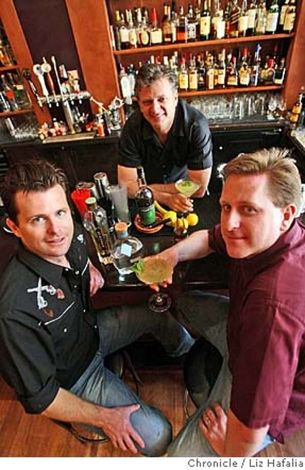 ###Live Caption:Soiree Cocktail by the three creators:(clockwise) Duggan McDonnell, H. Hermann, Jeff Hollinger, founders of SF Cocktail Week in San Francisco, Calif., on Monday, May 5, 2008. Photo by Liz Hafalia / San Francisco Chronicle###Caption History:Soiree Cocktail by the three creators:(clockwise) Duggan McDonnell, H. Hermann, Jeff Hollinger, founders of SF Cocktail Week in San Francisco, Calif., on Monday, May 5, 2008. Photo by Liz Hafalia / San Francisco Chronicle###Notes:Soiree Cocktail by the three creators:(clockwise) Duggan McDonnell, H. Hermann, Jeff Hollinger, founders of SF Cocktail Week in San Francisco, Calif., on Monday, May 5, 2008. Liz Hafalia / The Chronicle / {city } / 5/4/08  **Duggan McDonnell, Jef###Special Instructions:�2008, San Francisco Chronicle/ Liz Hafalia  MANDATORY CREDIT FOR PHOTOG AND SAN FRANCISCO CHRONICLE. NO SALES- MAGS OUT. Photo: Liz Hafalia
