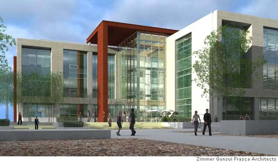 Stanford University�s Stem Cell Biology and Regenerative Medicine Institute will be housed in a 200,000 square foot building on Campus Drive in the School of Medicine campus. Photo: Stanford University School Of Me