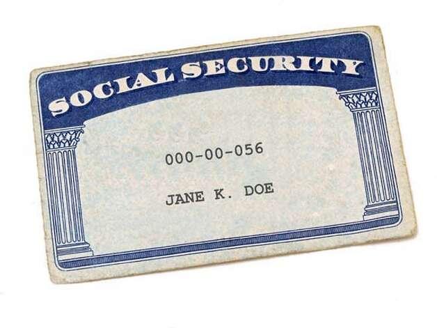 Social Security Card Blank