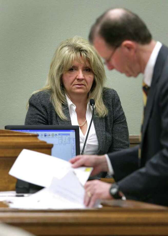 Debbie Cook is being sued in state district court here in the alleged violation of a nondisclosure agreement that she signed in October 2007 when she left the church. Photo: Bob Owen, San Antonio Express-News / © 2012 San Antonio Express-News