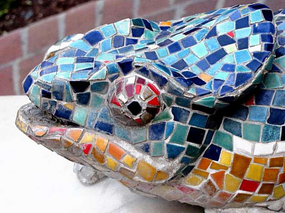 The Chameleons Fountain Garden in San Jose.